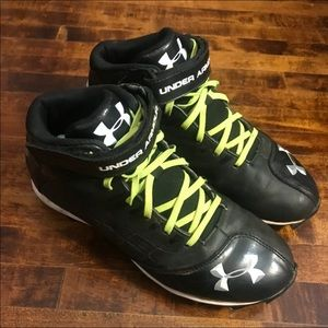Under Armour Lace Up Logo Cleats